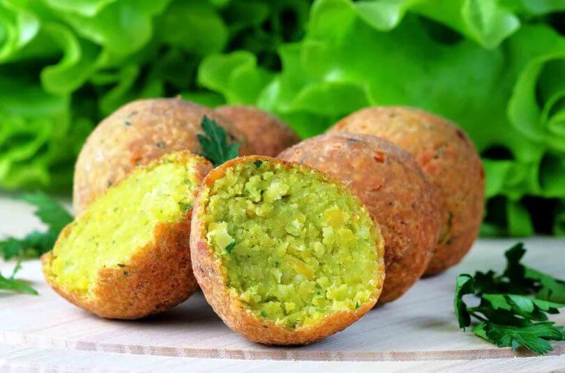Croquettes de légumes