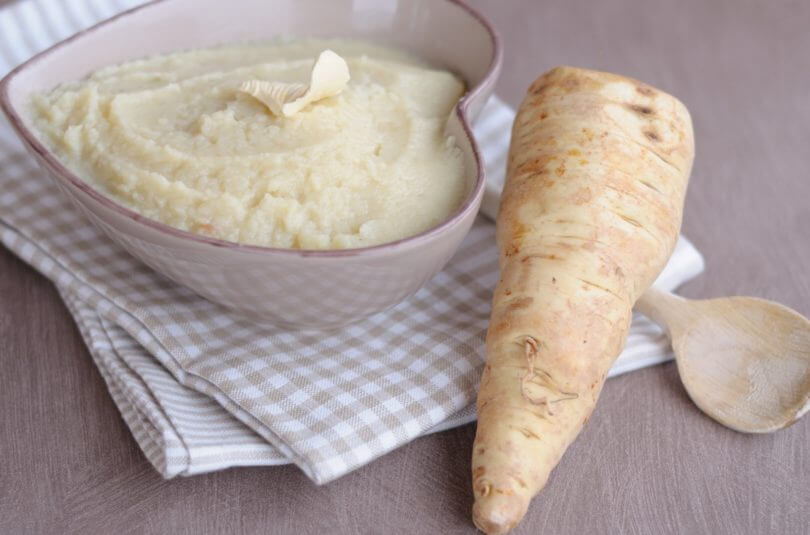 Purée de panais et pommes de terre