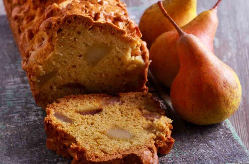 Cake poire & roquefort