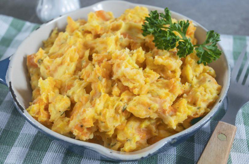 Purée de carottes au persil