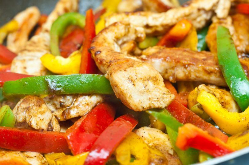 Blanc de poulet aux légumes du soleil