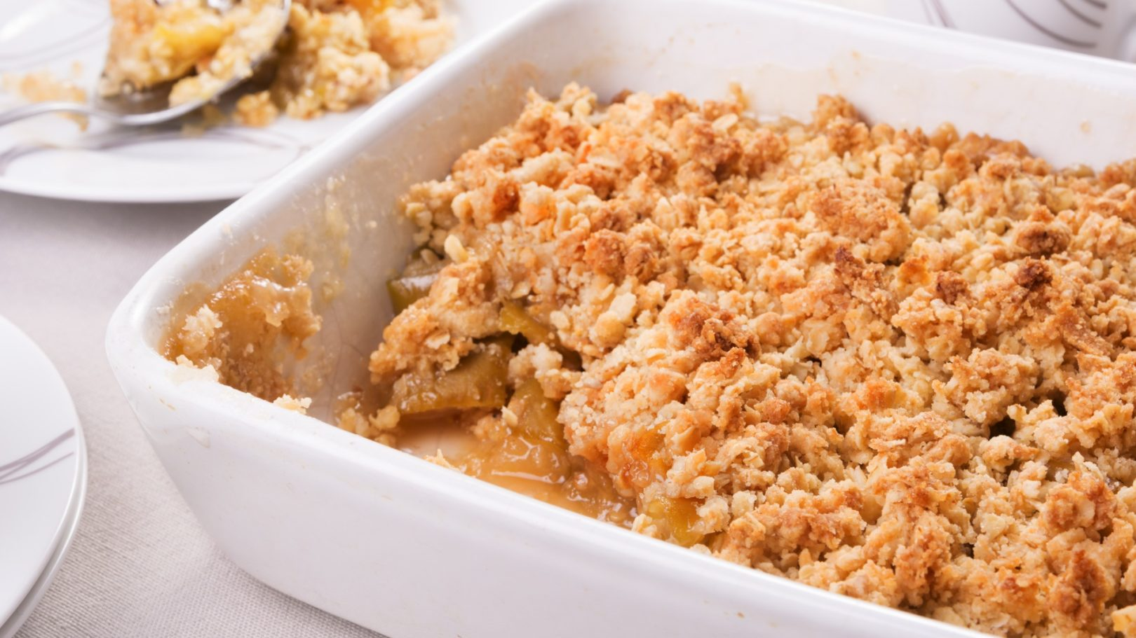 Crumble pommes-figues