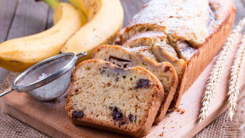 Gâteau à la banane et au chocolat